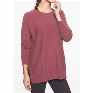 Athleta Stargazer Sweater Cashmere Wool Blend